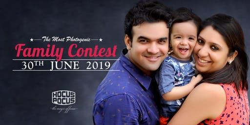 THE MOST PHOTOGENIC 'FAMILY CONTEST' - REGISTER NOW!