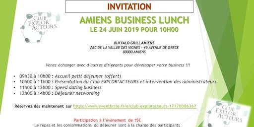 BUSINESS LUNCH CLUB EXPLOR'ACTEURS