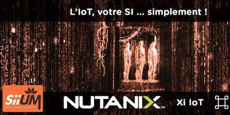 Déployez simplement votre IoT avec NUTANIX billets