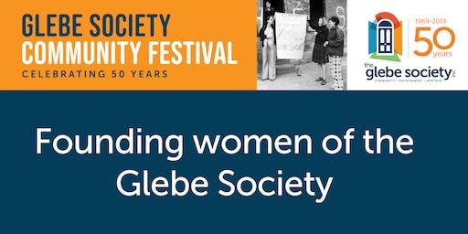 Founding Women of the Glebe Society