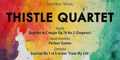 Inverurie Music presents the Thistle Quartet tickets