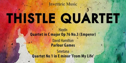 Inverurie Music presents the Thistle Quartet