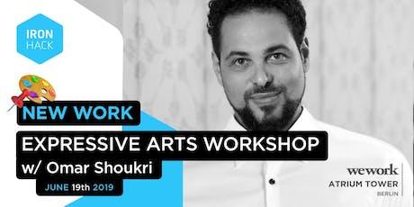 Irontalk - Expressive Arts Workshop Tickets