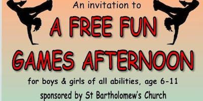 Free Fun Games Afternoon