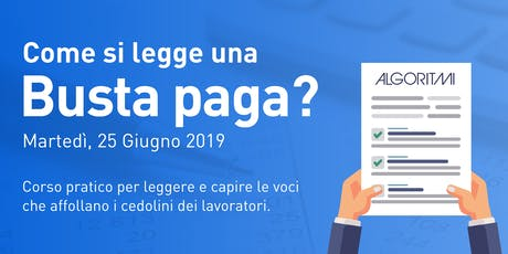 Come si legge una busta paga? tickets