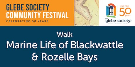Marine Life of Blackwattle & Rozelle Bays Walk tickets