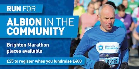 Brighton Marathon 2020 Registration tickets