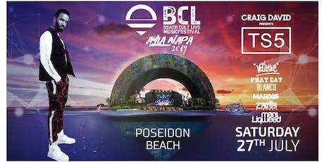 BCL Festival: Craig David presents TS5 tickets
