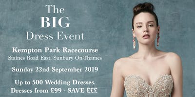The BIG Dress Event At Kempton Park Racecourse