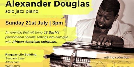 Alexander Douglas: solo jazz piano tickets