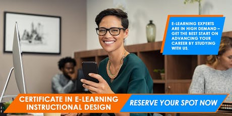 e-Learning Instructional Design Certificate | Melbourne tickets