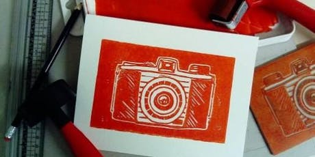 Learn to Lino - with Unruly Print tickets