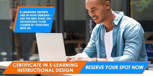 e-Learning Instructional Design Certificate | Sydney