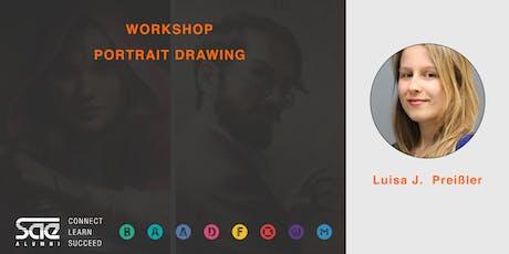 Portrait Drawing mit Luisa J. Preißler tickets