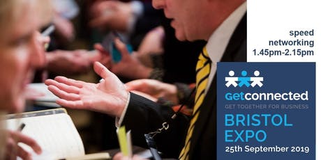 Speed Networking 2 at Get Connected Bristol Expo tickets
