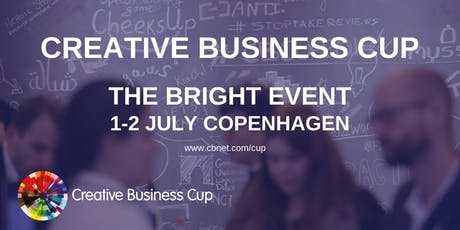 Creative Business Cup Global Finals 2019, the BRIGHT event tickets
