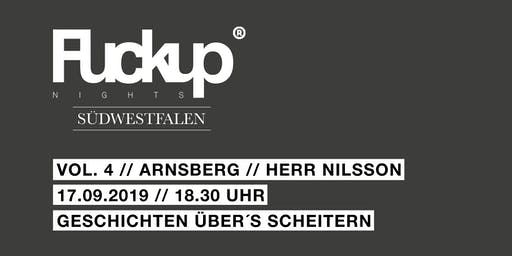 Fuck Up Night Südwestfalen Vol. 4