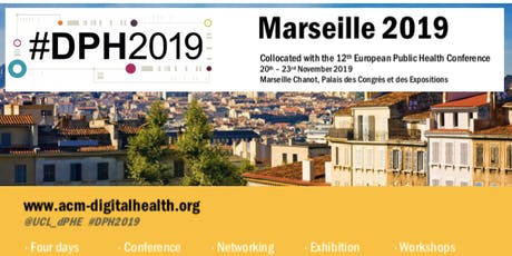 Digital Public Health Conference #DPH2019 (For Exhibitors) billets