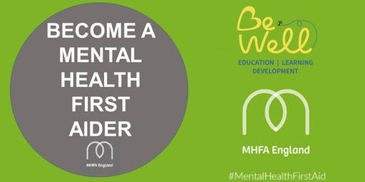 Adult Mental Health First Aid Two Day