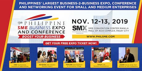 9th Philippine SME Business Expo & Conference 2019 tickets