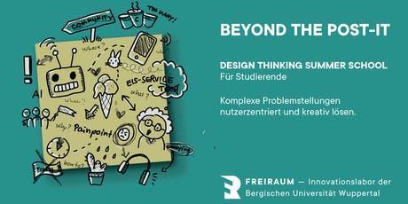 Beyond the Post-It: Design Thinking Summer School Tickets