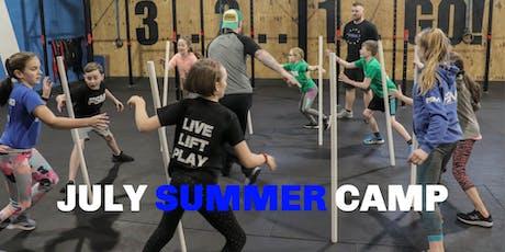 July Kids Summer Camp tickets