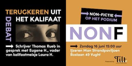 NONF - Schrijver Thomas Rueb over kalifaatmeisje  Laura H. tickets