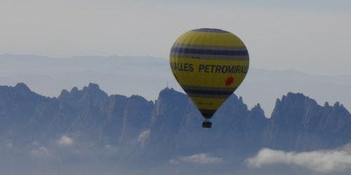 Montserrat Hot Air Balloon & Monastery Guided Tour from Barcelona