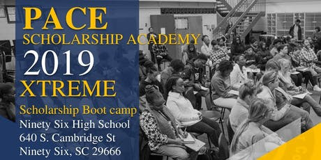 Pace Scholarship Academy's EXTREME Scholarship Bootcamp (Ninety Six, SC) tickets