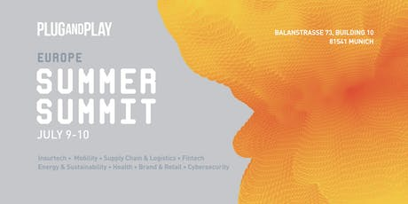 Europe Plug and Play Summer Summit tickets