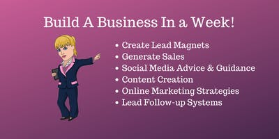 Build A Business In 5 Days - From an idea to a live and working business!