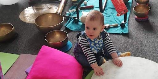 Mom & Baby Yoga Sound Bath Mini Retreat