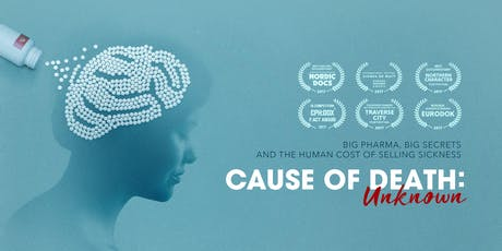 Australian Premiere Screening of 'Cause of Death: Unknown' tickets