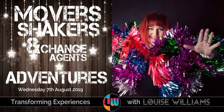 Movers, Shakers & Change Agents Event - August 2019 tickets