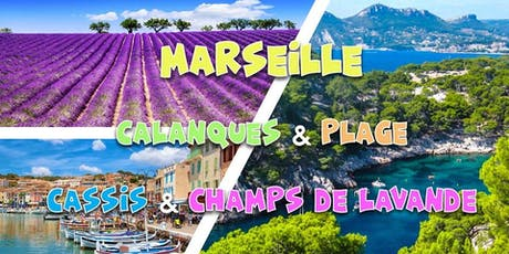 Summer weekend Marseille, Calanques, Champs Lavande, Plage 2019 tickets