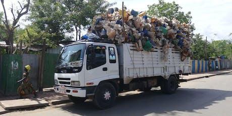 Reiserapportering om avfallshåndtering i flyktningeleir i Etiopia tickets