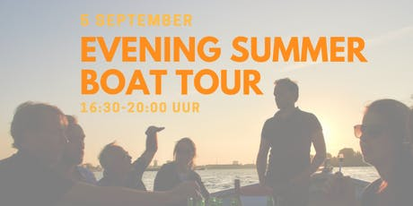 Evening Summber Boat Tour - 5 september tickets