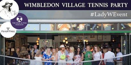 The Wimbledon Village Tennis Party tickets