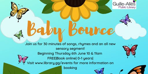 Baby Bounce @10am