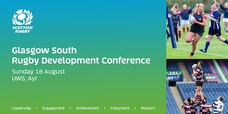 Glasgow South Rugby Development Conference 2019 (UWS, Ayr Campus) tickets