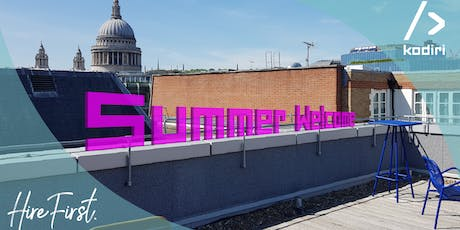 Summer Welcome Coding Party tickets