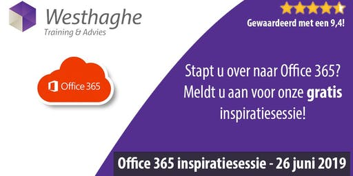 Office 365 Inspiratiesessie (GRATIS deelname)
