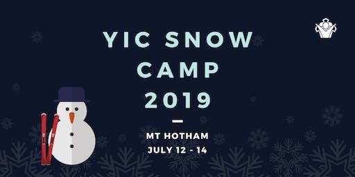 YIC Snow Camp 2019