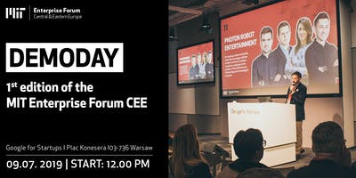 DemoDay 1st edition of the MIT Enterprise Forum CEE