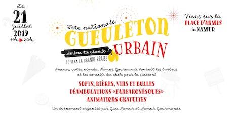 Gueuleton urbain 2019 billets