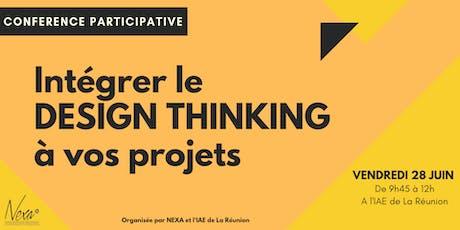 Intégrer le Design Thinking à vos projets billets