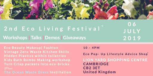 Eco Living Festival 2019  - Create your own Fresh Face Mask