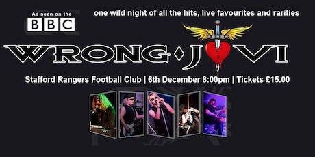 Wrong Jovi - Bon Jovi Tribute Band tickets