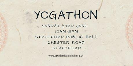 Yogathon tickets