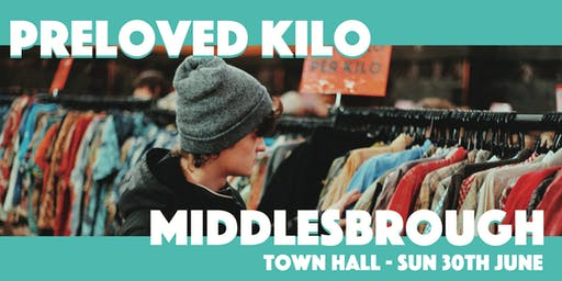 Middlesbrough  Preloved Vintage Kilo